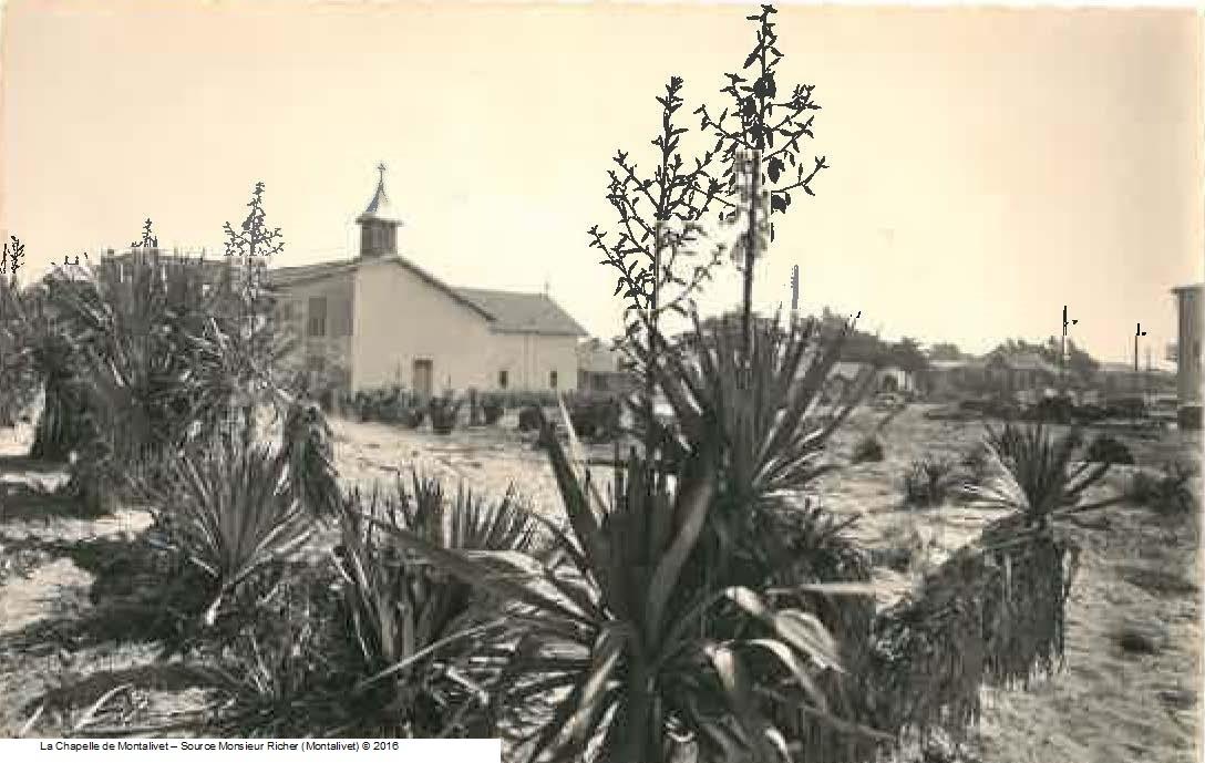 la chapelle de Montalivet les bains  - source Monsieur Richer