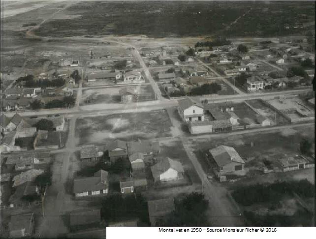Montalivet en 1950